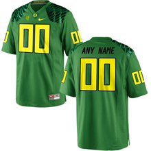 Load image into Gallery viewer, Oregon Ducks Jersey - Custom Green Winged Jersey - Any Name and Number