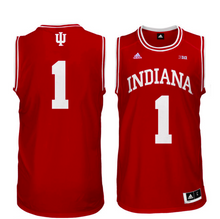 Load image into Gallery viewer, Indiana Hoosiers Jersey - Custom Red Basketball Jersey - Any Name and Number
