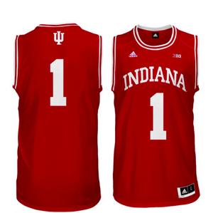 Indiana Hoosiers Jersey - Custom Red Basketball Jersey - Any Name and Number