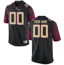 Load image into Gallery viewer, Florida State Seminoles Jersey - Custom Black Jersey - Any Name and Number