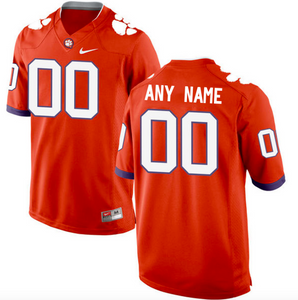 Clemson Tigers Jersey - Custom Orange Jersey - Any Name and Number