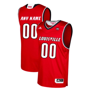 Louisville Cardinals Jersey - Custom Red Basketball Jersey - Any Name and Number