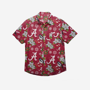 Alabama Crimson Tide Shirt - Mistletoe Button Up Shirt