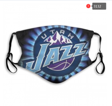 Load image into Gallery viewer, Utah Jazz Face Mask - Reuseable, Fashionable, Washable