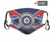Load image into Gallery viewer, Winnipeg Jets Face Mask - Reuseable, Fashionable, Washable