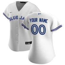 Load image into Gallery viewer, Toronto Blue Jays Jersey - Custom Name and Number - Women's White