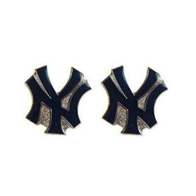New York Yankees Earrings - Logo Stud Earrings