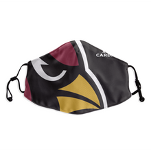 Load image into Gallery viewer, Arizona Cardinals Face Mask- Reuseable, Fashionable, Several Styles