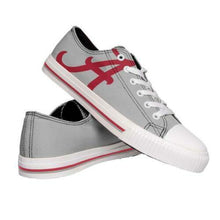 Load image into Gallery viewer, Alabama Crimson Tide Shoes - Mens Low Top Big Logo Canvas