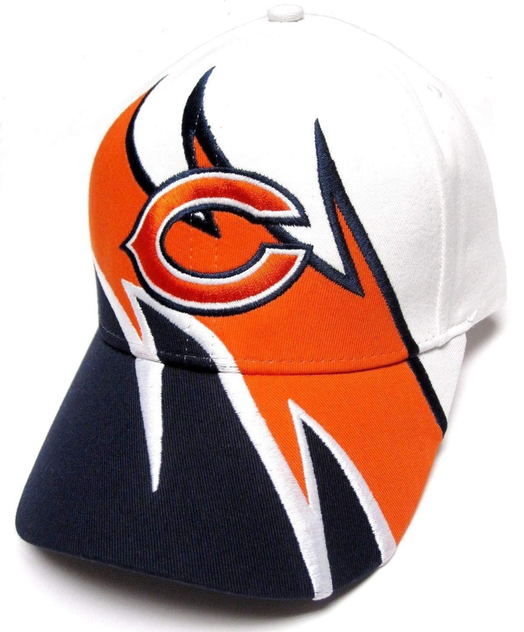 Chicago Bears Hat - Sharktooth Style Team Logo