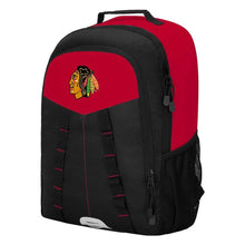"Load image into Gallery viewer, Chicago Blackhawks Backpack - ""Scorcher"" Sports Backpack"