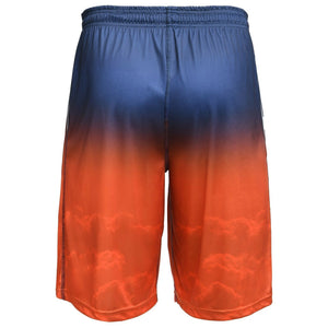 Denver Broncos Shorts - Gradient Big Logo Training Shorts