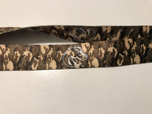 Load image into Gallery viewer, Boise State University Lanyard - Camo reversible lanyard keychain