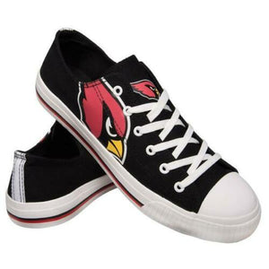 Arizona Cardinals Shoes - Men's Low Top Canvas Logo Shoe