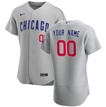 Load image into Gallery viewer, Chicago Cubs Jersey - Custom Name and Number - Grey