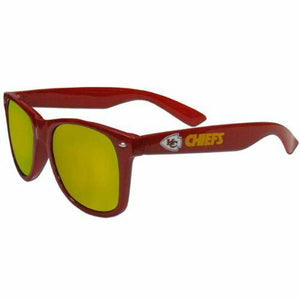 Kansas City Chiefs Sunglasses -  Team Mirrored Sunglasses