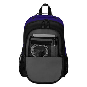 "Baltimore Ravens Backpack - ""Scorcher"" Sports Backpack"