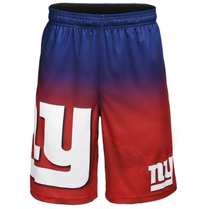 New York Giants Shorts - Gradient Big Logo Training Shorts