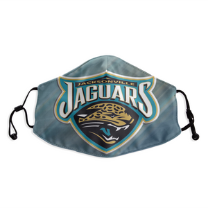 Jacksonville Jaguars Face Mask- Reuseable, Fashionable, Several Styles