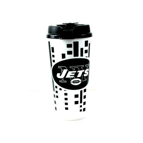 New York Jets Travel Mug - Insulated Travel Tumbler