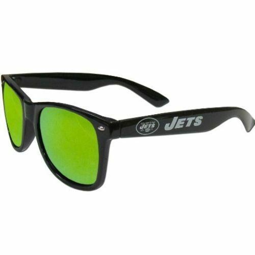 New York Jets Sunglasses -  Team Mirrored Sunglasses