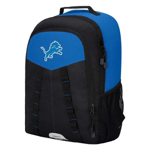 "Detroit Lions Backpack - ""Scorcher"" Sports Backpack"