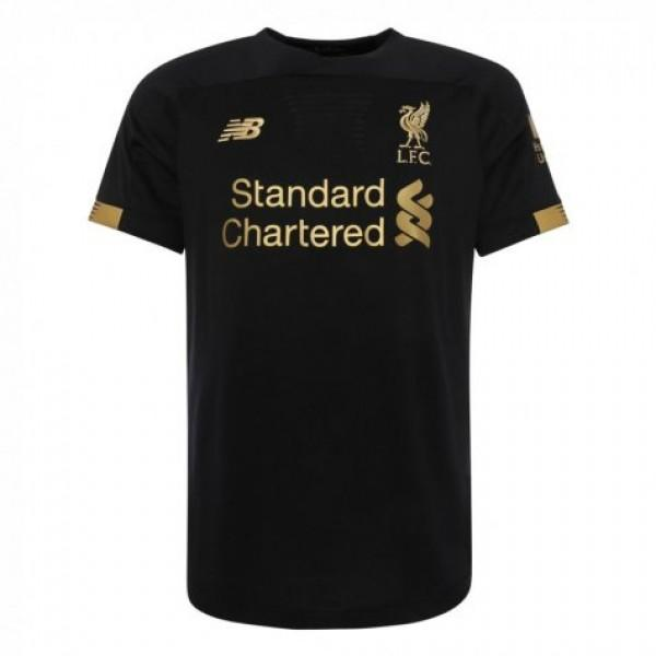 Liverpool Goalkeeper Short Sleeve Home 19/20 Jersey - Custom Any Name or Number
