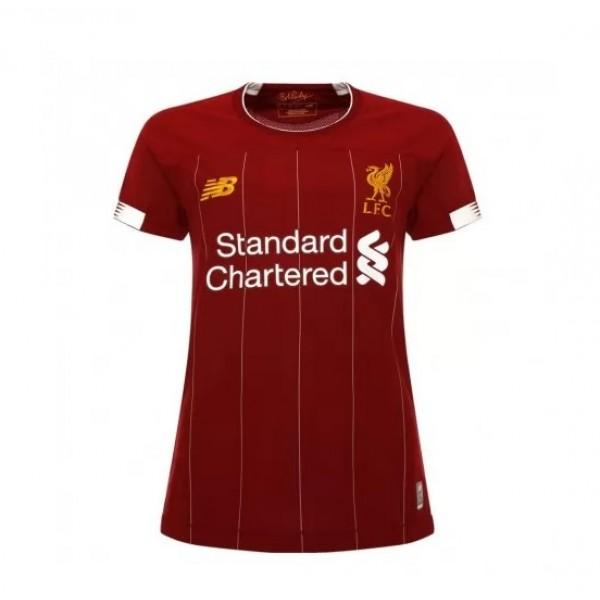 Liverpool Home 19/20 Women's Jersey - Custom Any Name or Number