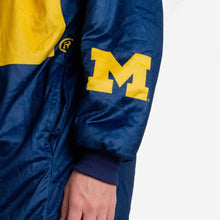 Load image into Gallery viewer, Michigan Wolverines Pullover - Hooded Reversible Big Logo