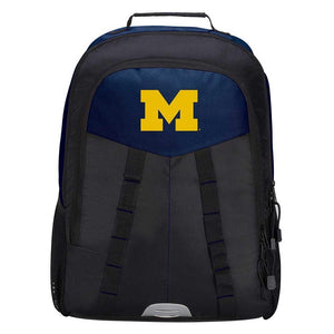 "Michigan Wolverines Backpack - ""Scorcher"" Sports Backpack"