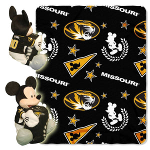 Missouri Tigers Blanket - Mickey Hugger and Fleece Throw Set