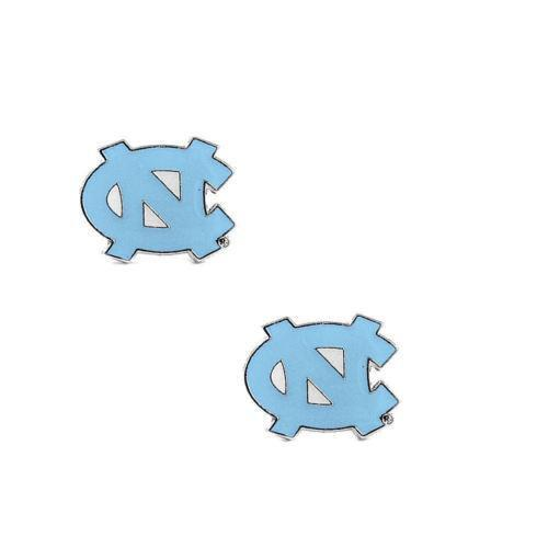 North Carolina Tar Heels earrings - post stud earrings