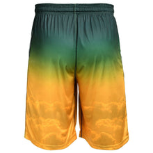 Load image into Gallery viewer, Green Bay Packers Shorts - Gradient Big Logo Training Shorts