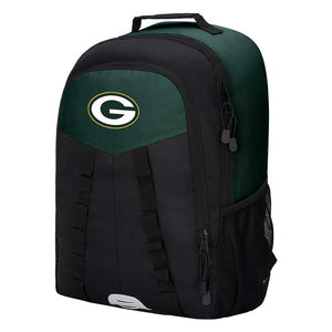 "Green Bay Packers Backpack - ""Scorcher"" Sports Backpack"