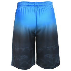 Carolina Panthers Shorts - Gradient Big Logo Training Shorts