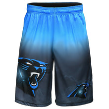 Load image into Gallery viewer, Carolina Panthers Shorts - Gradient Big Logo Training Shorts