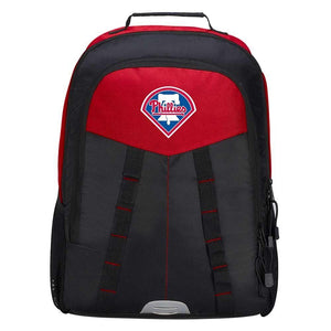"Philadelphia Phillies Backpack - ""Scorcher"" Sports Backpack"