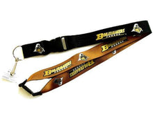 Load image into Gallery viewer, Purdue Boilermakers reversible lanyard keychain