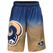 Load image into Gallery viewer, Los Angeles Rams Shorts - Gradient Big Logo Training Shorts