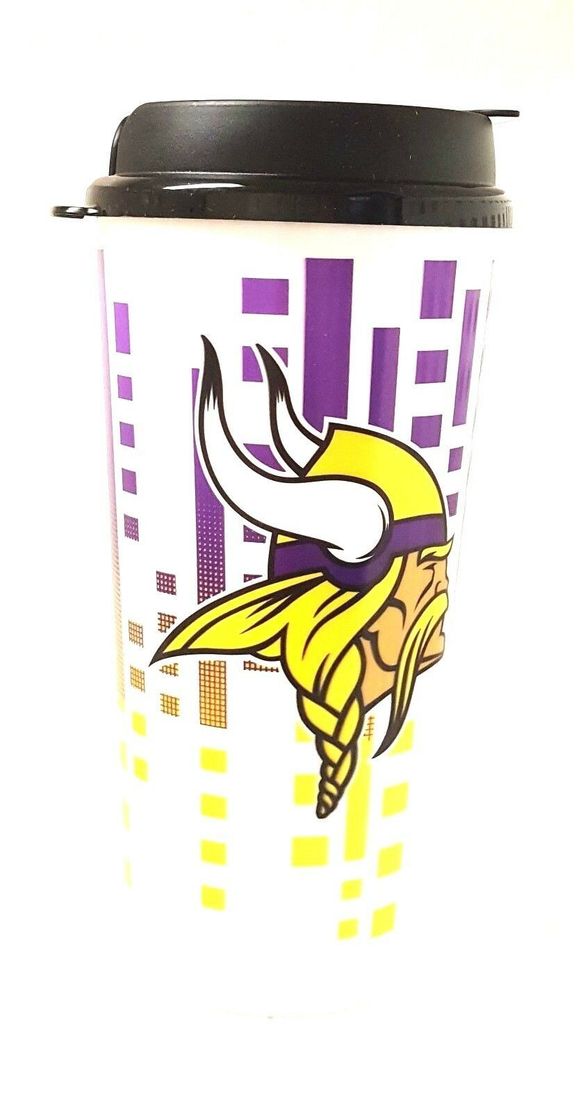 Minnesota Vikings Travel Mug - Insulated Travel Tumbler