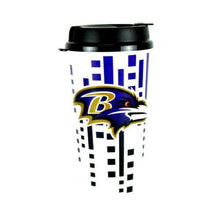 Load image into Gallery viewer, Baltimore Ravens Travel Mug - Insulated Travel Tumbler