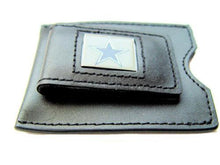 Load image into Gallery viewer, Dallas Cowboys leather money clip