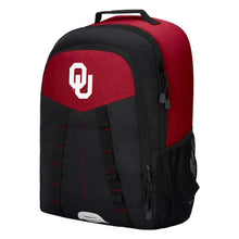 "Load image into Gallery viewer, Oklahoma Sooners Backpack - ""Scorcher"" Sports Backpack"