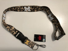 Load image into Gallery viewer, Michigan Wolverines Lanyard - Camo reversible lanyard keychain