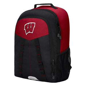 "Wisconsin Badgers Backpack - ""Scorcher"" Sports Backpack"