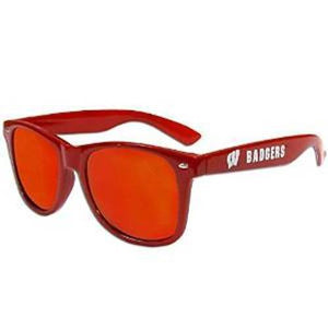 Wisconsin Badgers Sunglasses - Team Mirrored Sunglasses