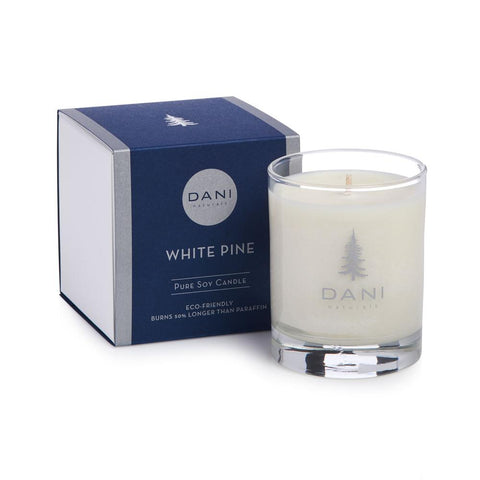 DANI White Pine Holiday Scented Soy Candle 7.5 oz