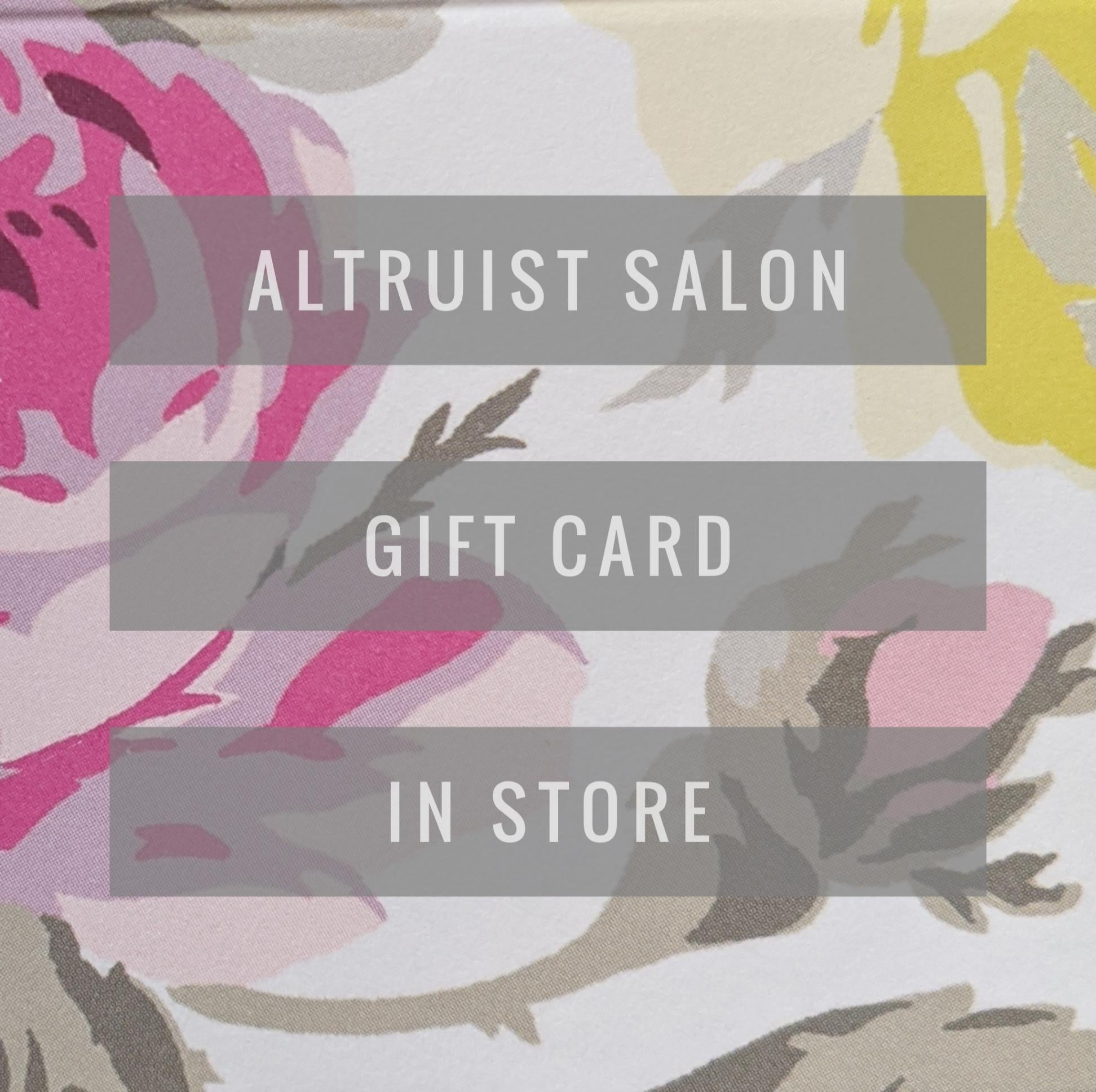 IN-STORE gift card Missoula, MT