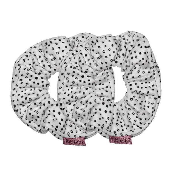 KITSCH Microfiber Towel Scrunchies - Micro Dot