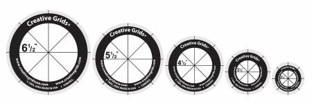 Rotary Cutting Circles Creative Grids Ruler